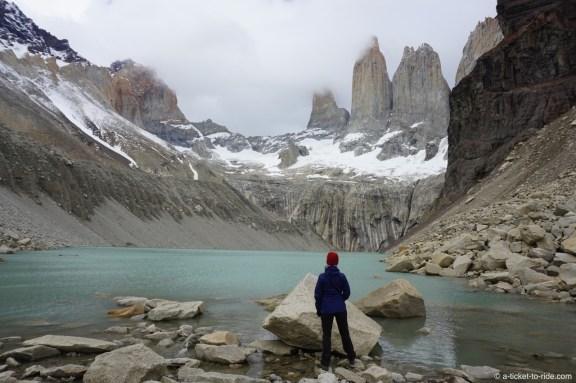 Chili, Torres del Paine, las torres, jour 4