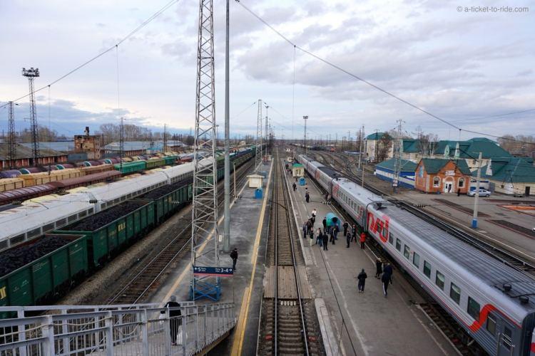 Russie, transsibérien, voies ferrées