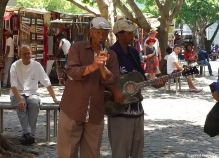 Afrique du Sud, Cape Town, Greenmarket Square