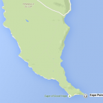 Carte Péninsule du Cap