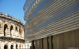 nimes-musée-romanité-arenes
