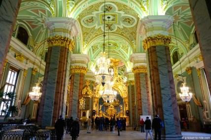 Russie, Saint-Pétersbourg, Cathédrale Saint-pierre-et-paul