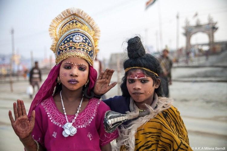 Inde-Khumbh Mela-costumes