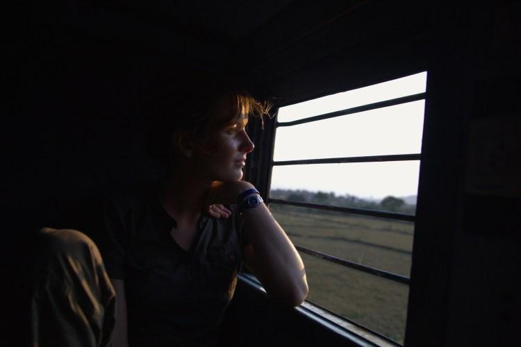 Inde, train