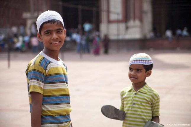 Inde, Delhi, portraits