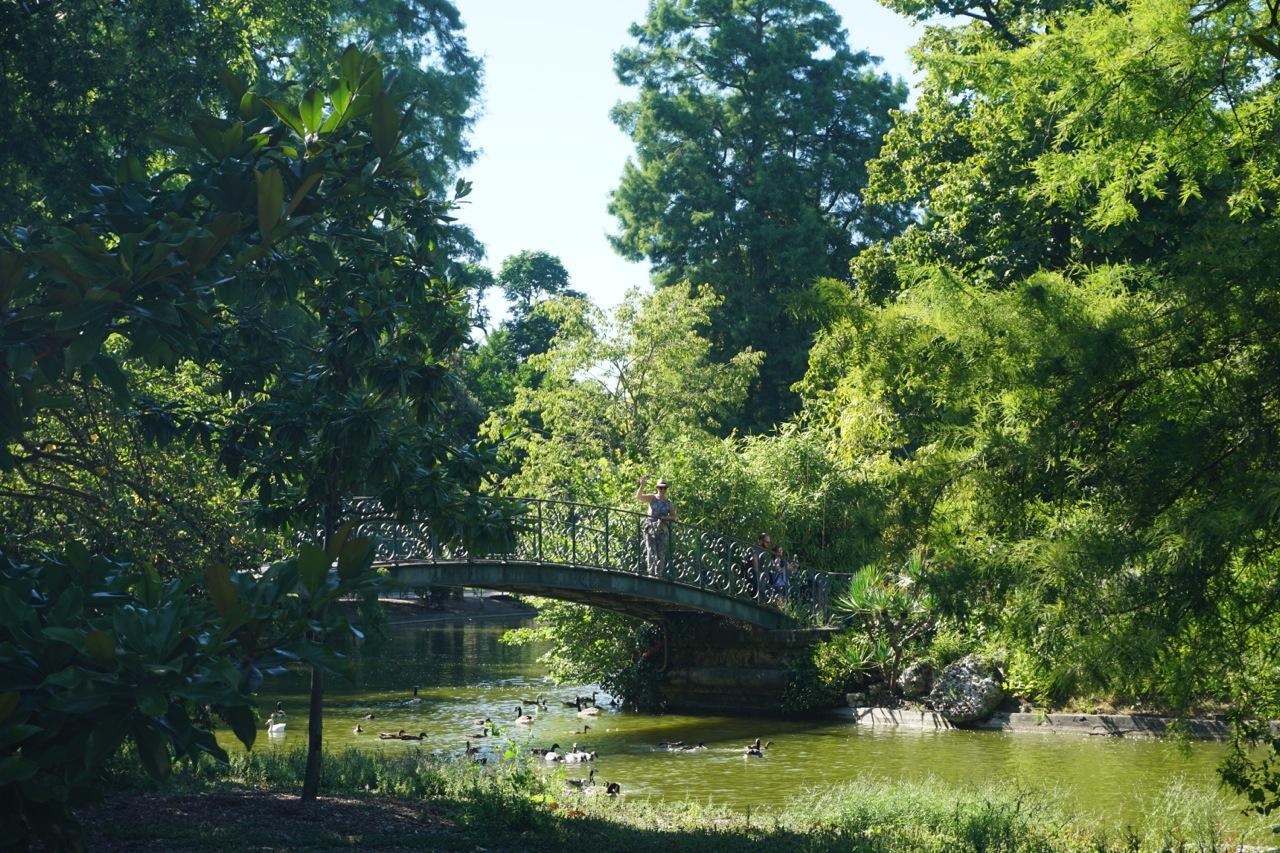 Bordeaux, jardin public