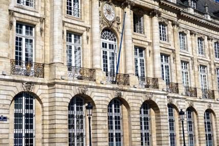 Bordeaux, place de la Bourse
