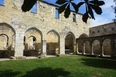 France, Saint-Emilion, Cloître des Cordeliers