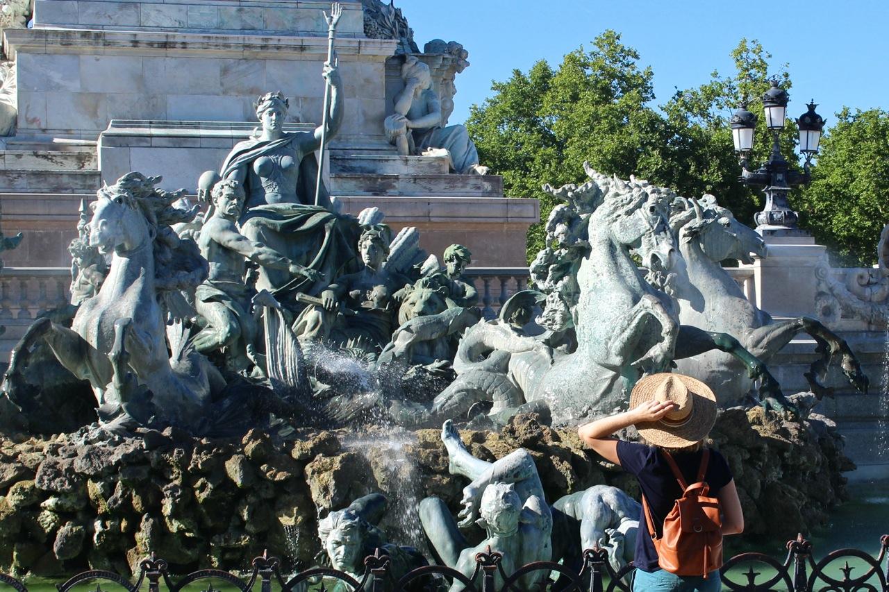 Bordeaux, monument aux Girondins