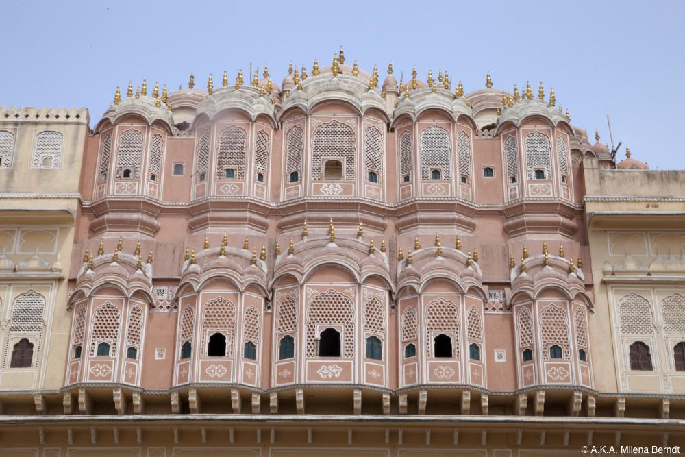 Inde, Jaipur, le Palais des Vents