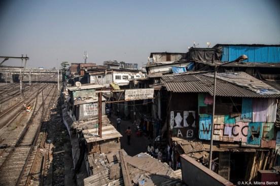 Inde, Mumbai, bidonville Dharavi