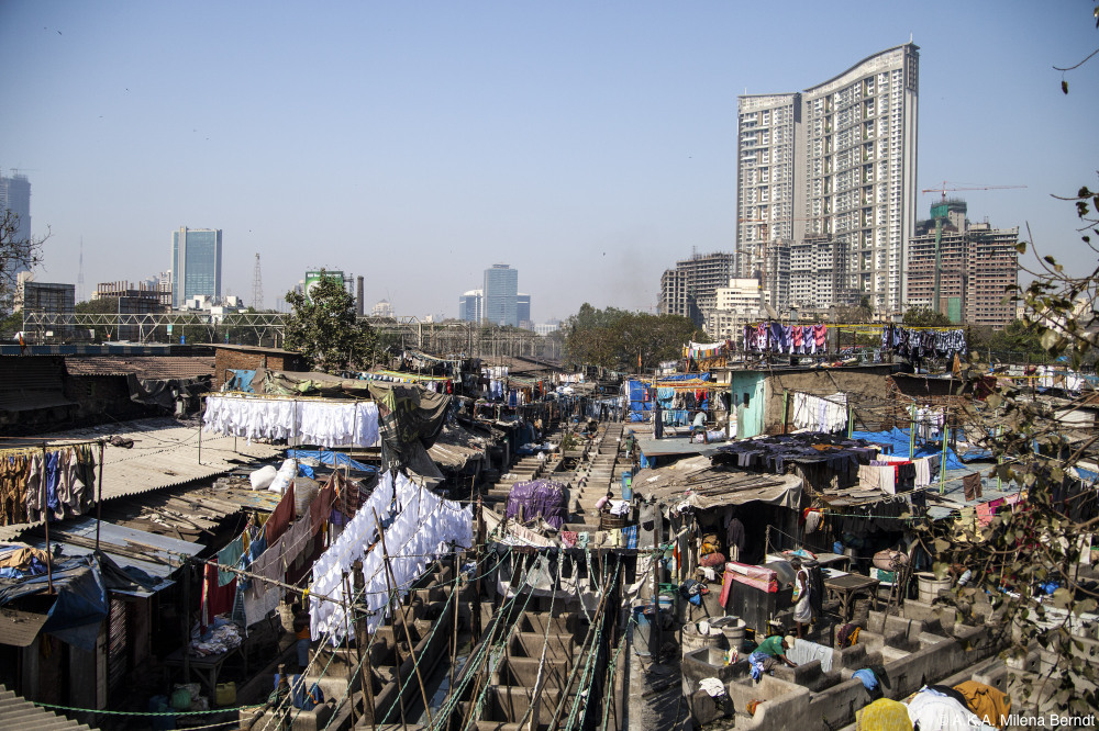 Inde, Mumbai, Dhobi Ghat