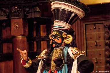Inde, Kochi, théâtre Kathakali