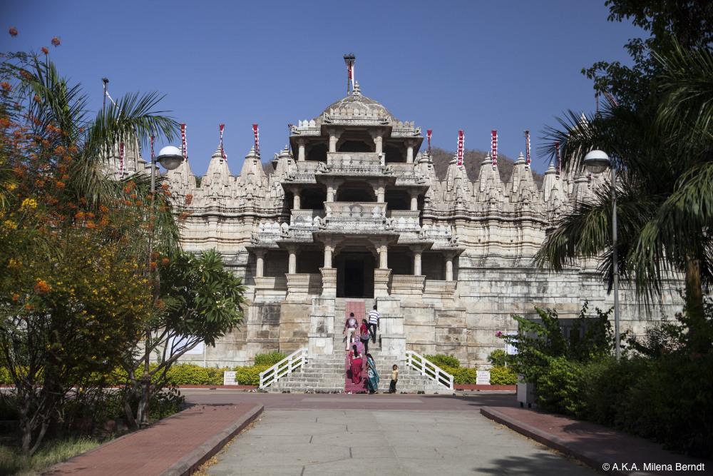 Inde, le temple Jaïn de Ranakpur