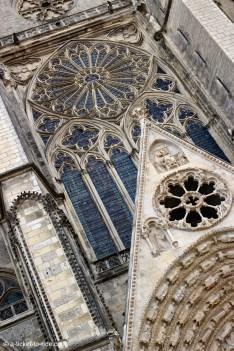 Bourges, cathédrale, façade