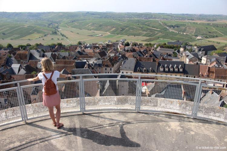 Sancerre, vue depuis la tour des Fiefs