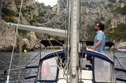 Marseille, première fois sur un voilier