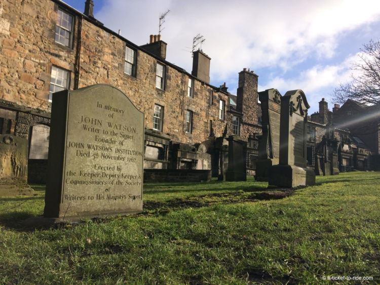 Ecosse, Édimbourg, cimetière Greyfriars