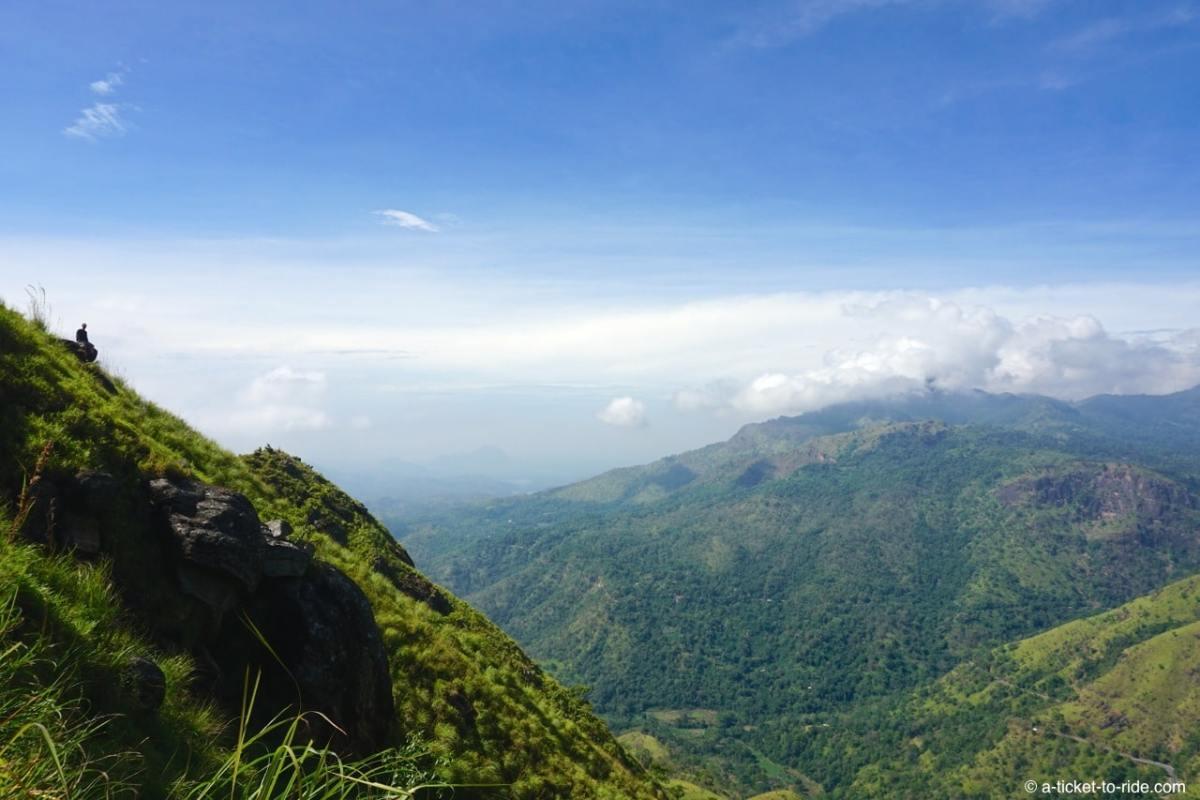 Sri Lanka, Ella, Adam's peak, panorama
