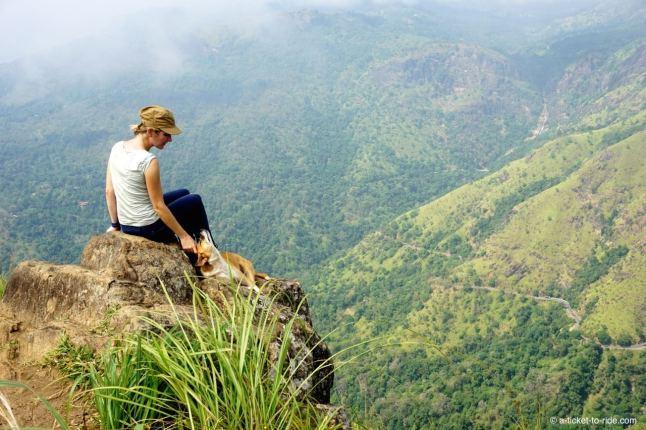 Sri Lanka, Ella, Adam's peak,vue