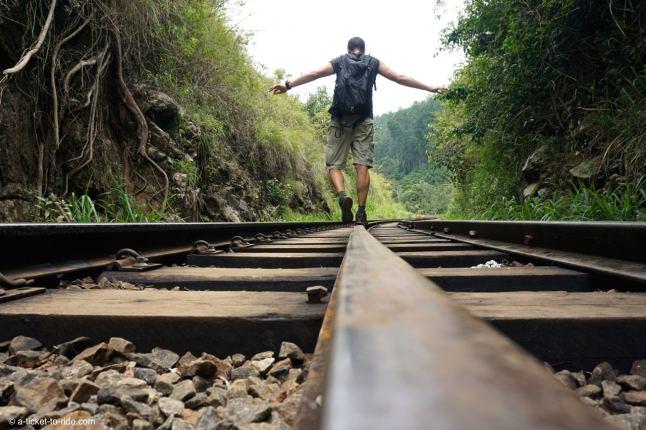 Sri Lanka, Ella, voie ferrée