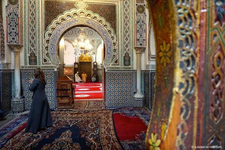 Fès, mosquée, El Karaouiyine