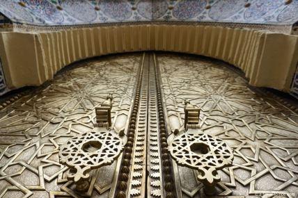 Fès, porte du palais royal