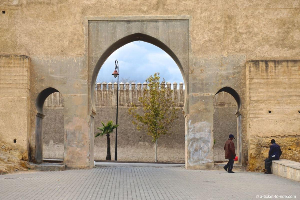 Fèss, square Boujloud