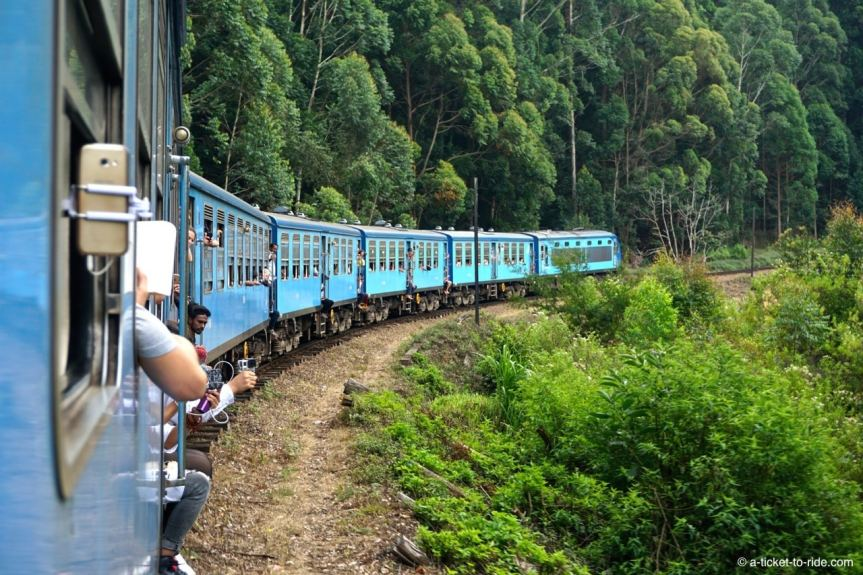 Sri Lanka, train, fenêtre