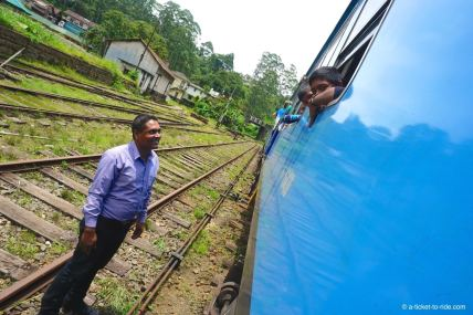Sri Lanka, train, rencontre