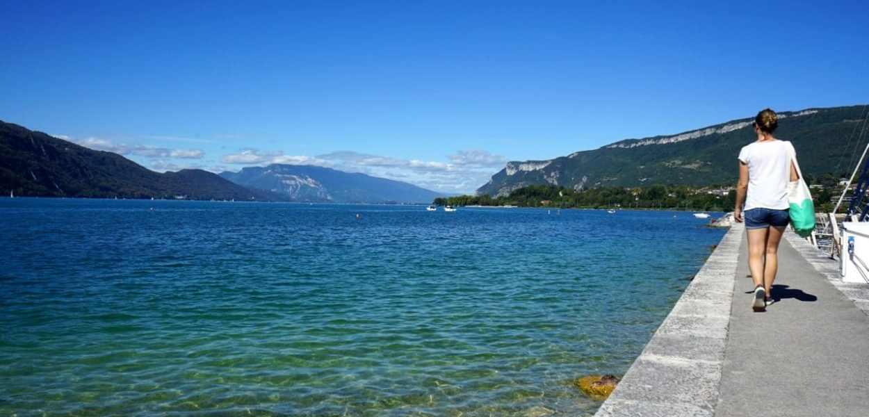 Aix-les-Bains, lac du Bourget