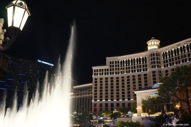 USA, Las Vegas, Bellagio by night