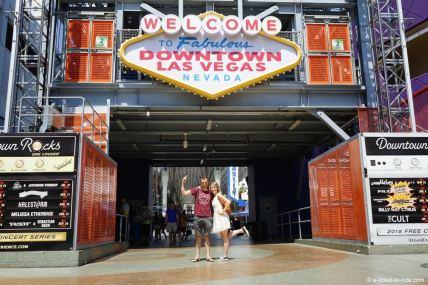 USA, Las Vegas, Downtown Fremont street