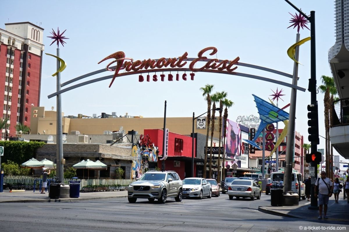 USA, Las Vegas, Fremont street