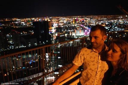 USA, Las Vegas, vue depuis le stratosphere hotel