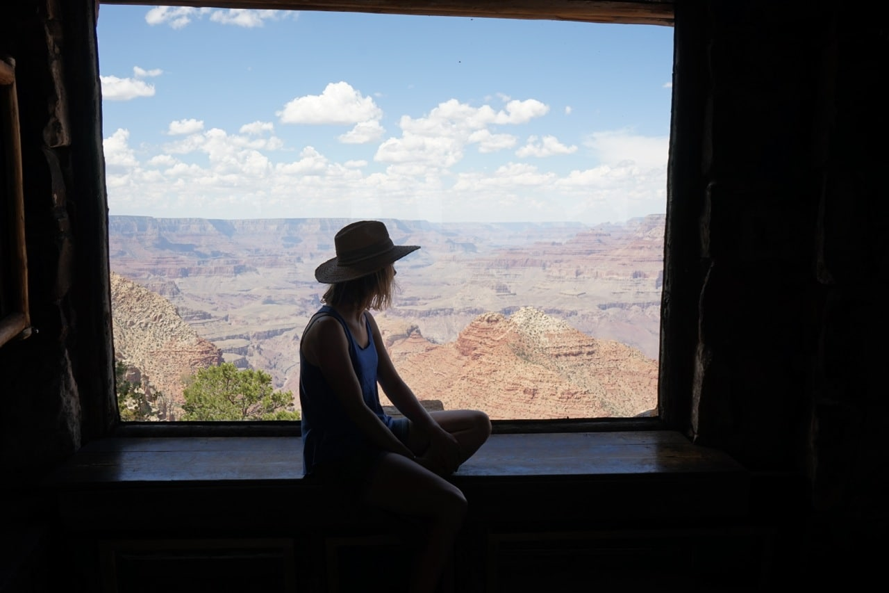Grand canyon, Desert view tower