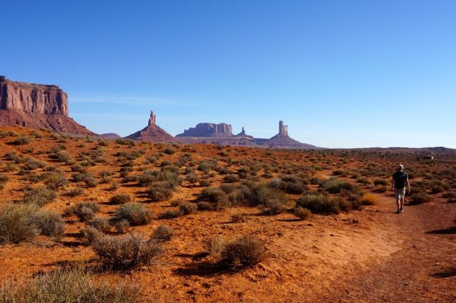 Monument valley, seuls