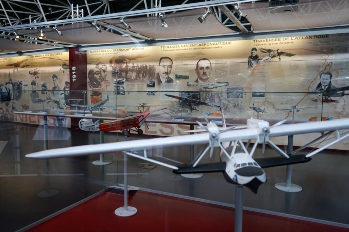 Toulouse, Aéroscopia, histoire