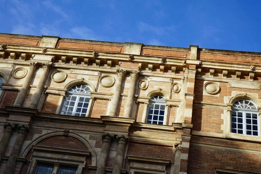 Toulouse, Hôtel Assezat, façade