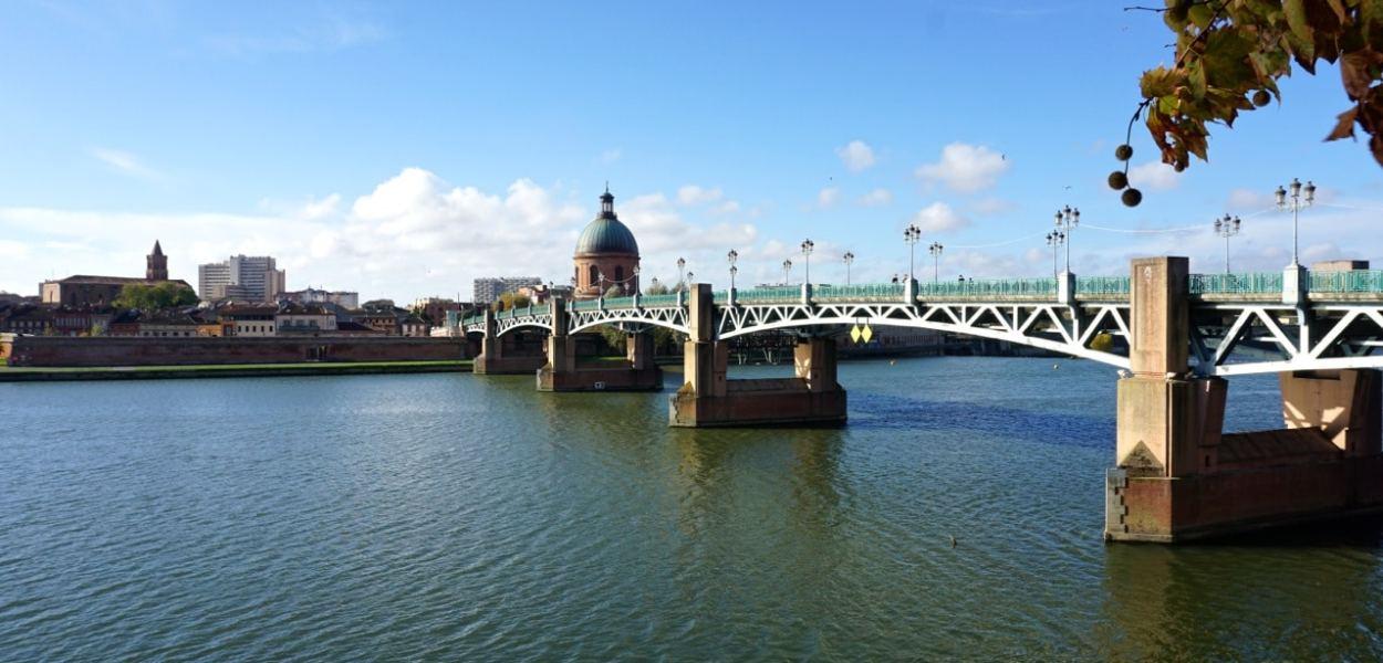 Toulouse, pont Saint-Pierre