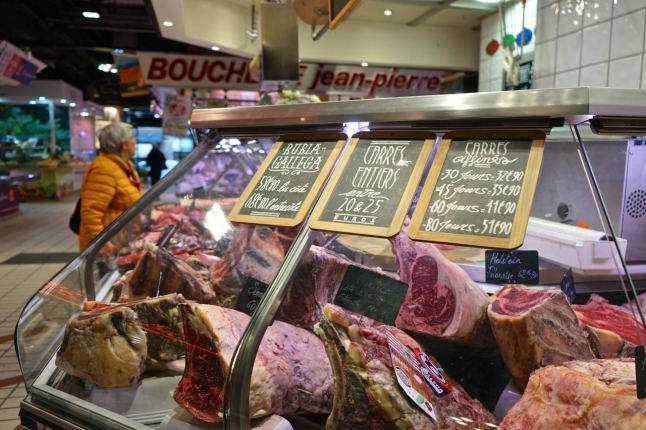 tToulouse, marché Victor-Hugo, boucherie