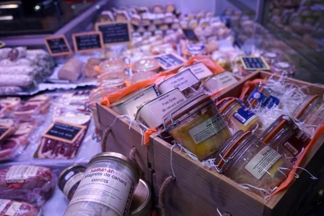 Toulouse, marché Victor-Hugo, maison Samarran