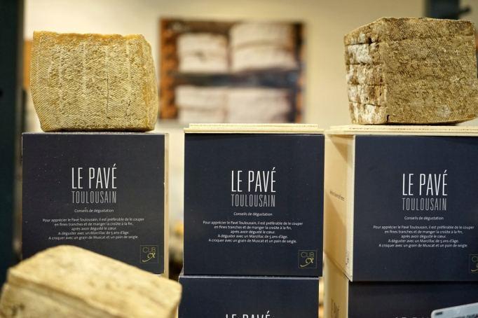 Toulouse, Pavé toulousain, le fromage