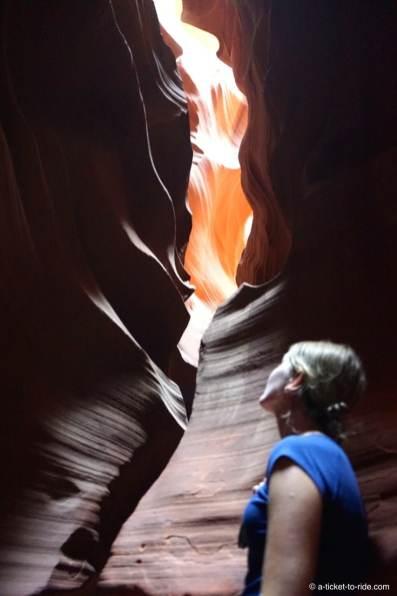 Upper Antelope Canyon, Elodie