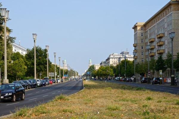 Berlin, avenue Karl Marx