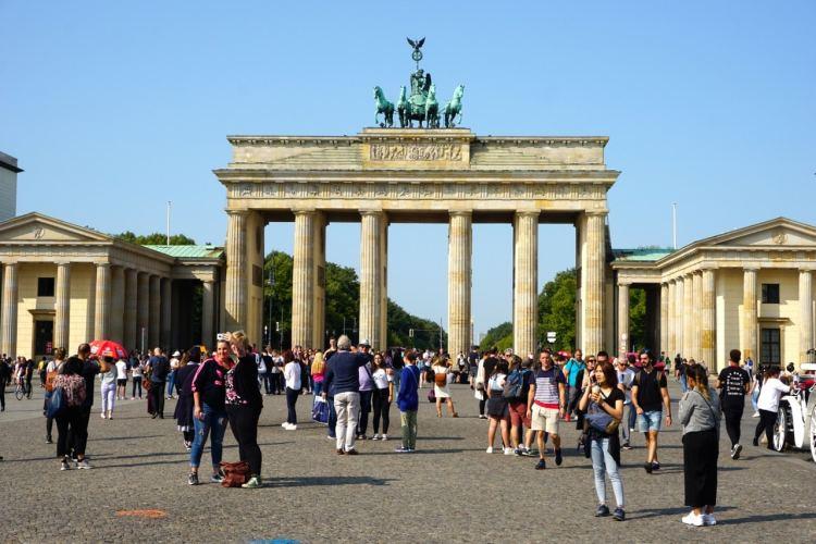 Berlin, porte de Brandebourg