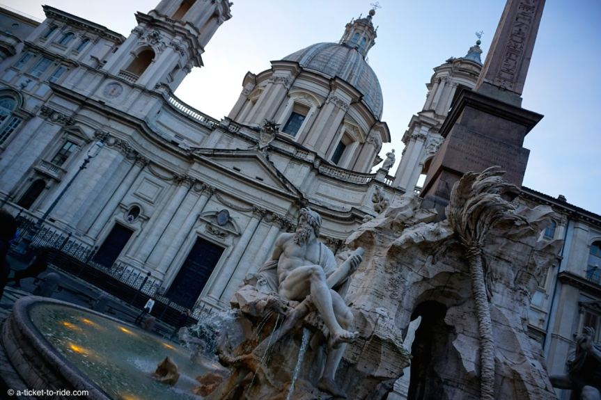 Italie, Rome, Piazza Navona