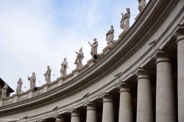 Italie, Rome, Vatican, Place Saint-Pierre