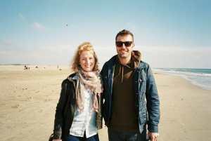 Eloide et Mathieu, plage de l'Espiguette