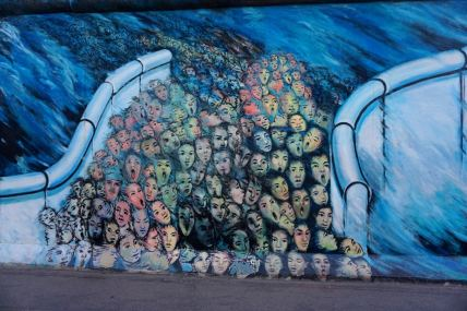 Berlin, East side Gallery, oeuvre